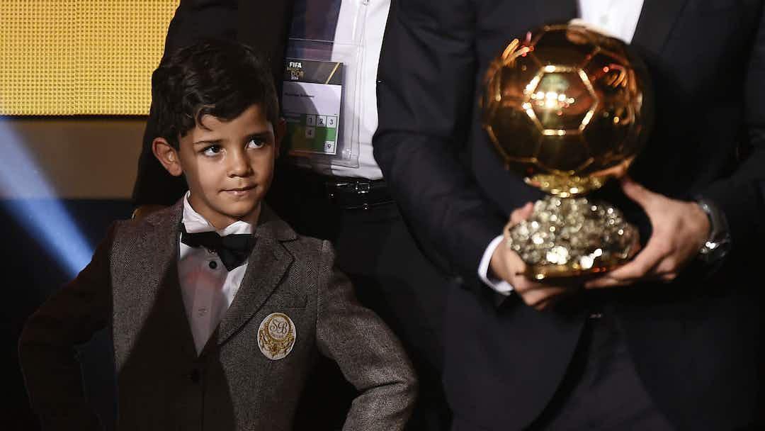 El Hijo De Cristiano Ronaldo Vuelve A Declararle Su Amor A Messi