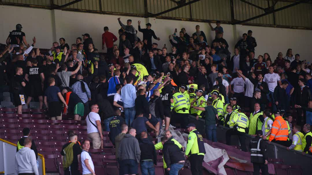 Fitmax Hannover burnley v hannover abandoned due to crowd trouble onefootball
