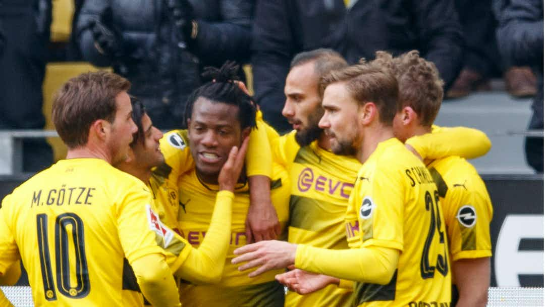 Fitmax Hannover borussia dortmund 1 hannover 0 batshuayi the difference again for