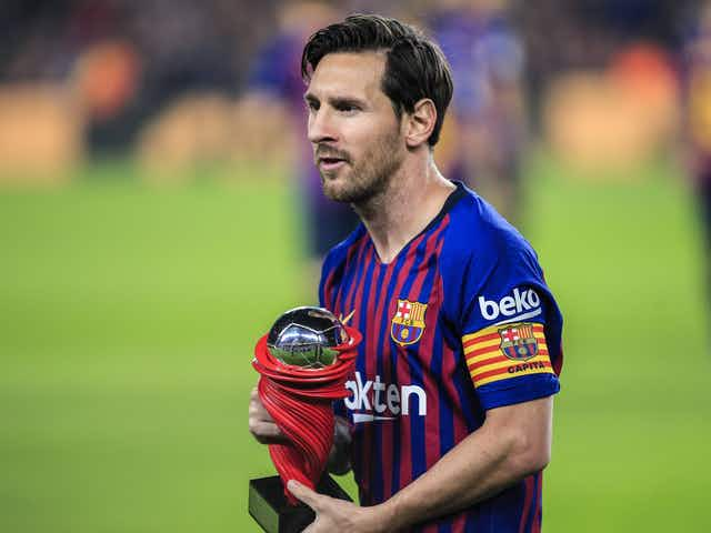 Official: Lionel Messi named La Liga Player of the Month for February