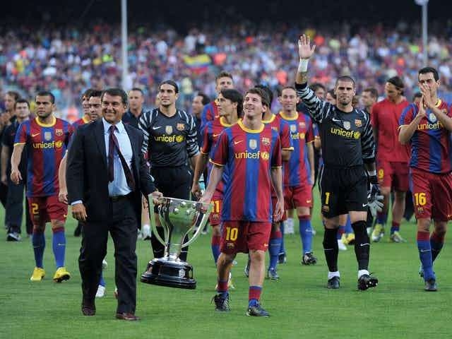 Official: Laporta becomes new Barcelona president