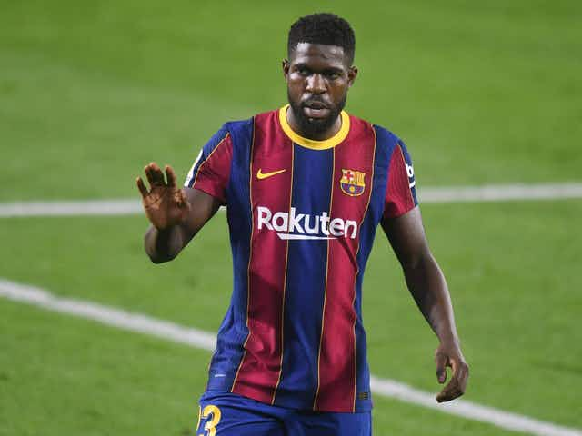 Report: Barcelona have shortlisted three names to replace Umtiti