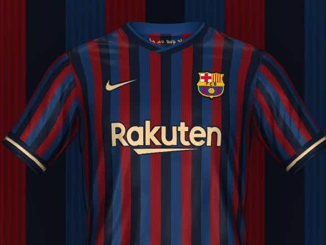 Leaked: Barcelona's 2022-23 home kit