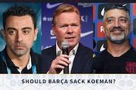 Live discussion: Should Barcelona sack Ronald Koeman?