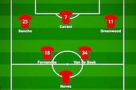 No Pogba, Van de Beek starts: How Man Utd could line up with Sancho, Varane and Neves