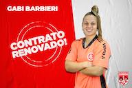 Gabi Barbieri renova com as Gurias Coloradas