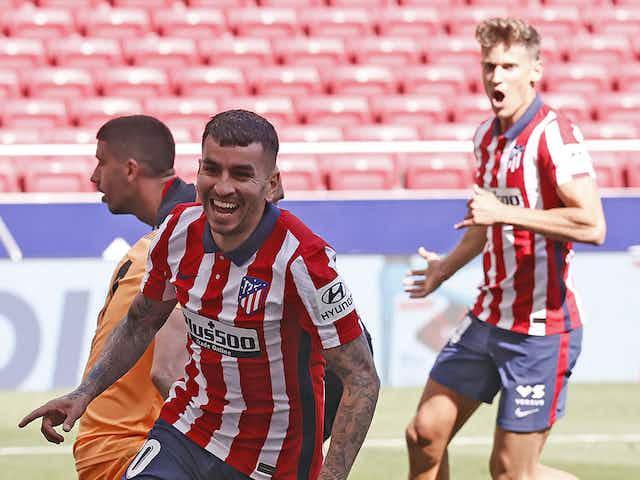 Doblete de Ángel Correa en la goleada de Atlético de Madrid