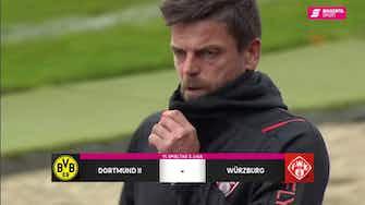 Vorschaubild für Borussia Dortmund II - FC Würzburger Kickers (Highlights)