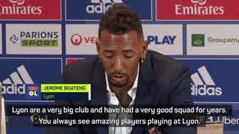 Preview image for 'Good and bad' - Lyon's Boateng battle-hardened by Messi experience