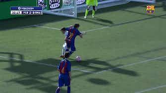 Preview image for Gavi's two goals against Real Madrid in LaLiga Promises semi-final