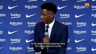 Preview image for Ansu Fati dreaming of 'being a winner at Barça'