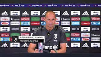 """Anteprima immagine per Allegri scherza su impegni e formazioni: """"So già quella contro il Napoli..."""""""