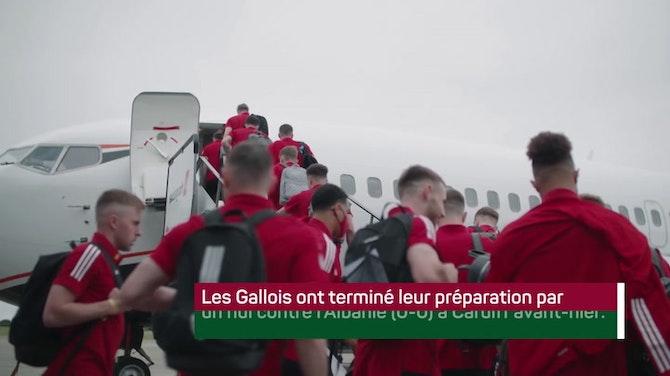 Image d'aperçu pour Euro 2020 - Le Pays de Galles s'est envolé pour Bakou