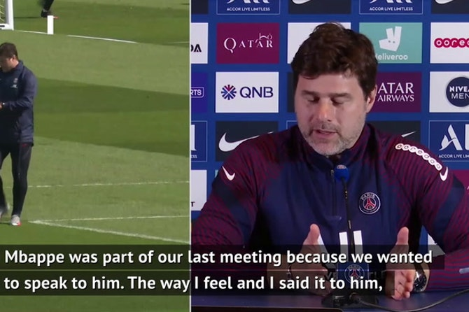 PSG looked after Mbappe despite his calf injury - Pochettino