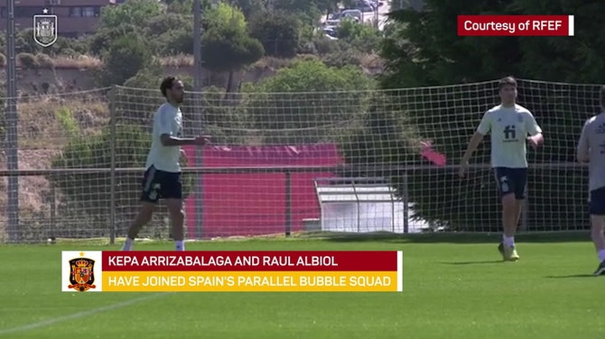 Kepa and Albiol join Spain's standby list