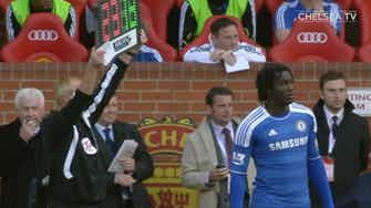 Preview image for Romelu Lukaku's first spell at Chelsea