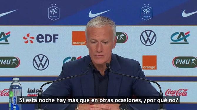 """Imagen de vista previa para Deschamps: """"En ningún momento dije que Benzema no podía ser seleccionado"""""""