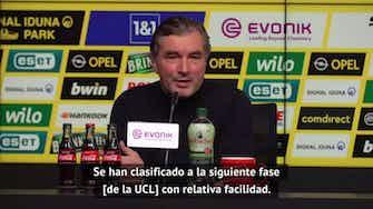 """Imagen de vista previa para Zorc destacó a los equipo alemanes en Champions: """"Hasta el Real Madrid tuvo problemas para clasificar"""""""