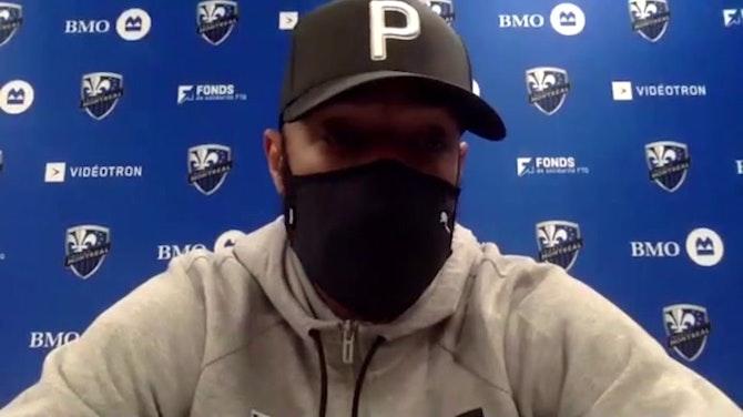 """Impact Montréal - Henry : """"Au vu de la situation, je suis fier de mes joueurs"""""""