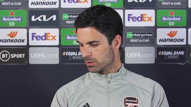 """Arteta: """"Tenemos que estar más acertados que en Villarreal"""""""