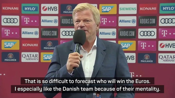 Preview image for Kahn favours Denmark for Euro glory