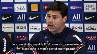 """Image d'aperçu pour PSG - Pochettino : """"Mbappé veut jouer au football, il veut s'amuser"""""""