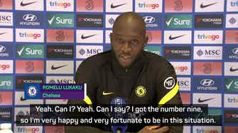 Preview image for 'I'm Chelsea's number 9' - Lukaku