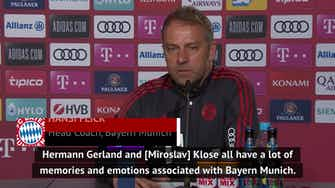 Preview image for Flick preparing for emotional day of Bayern farewells