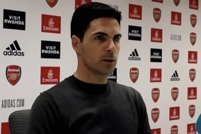 We are still miles from where I want to be! Mikel Arteta