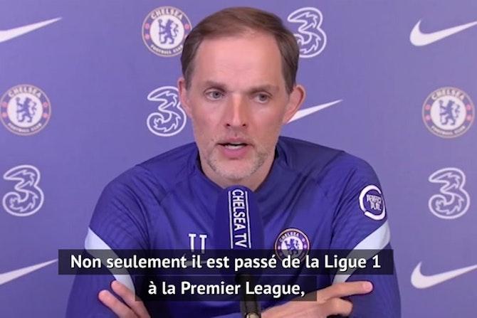 """36e j. - Tuchel impressionné par Édouard Mendy : """"Son calme se diffuse sur sa défense"""""""