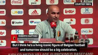 Preview image for Lukaku an iconic figure of Belgian football - Martinez