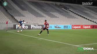 Imagem de visualização para Veja o gol de Waguininho na derrota do Coritiba para o Athletico-PR