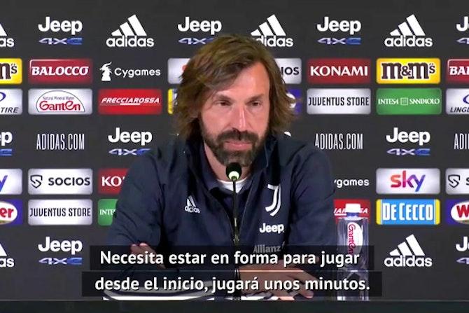"""Pirlo: """"No he podido contar mucho con Dybala el último año"""""""