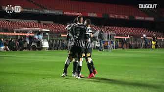 Imagem de visualização para Confira os gols da vitória do Corinthians sobre o Red Bull Bragantino