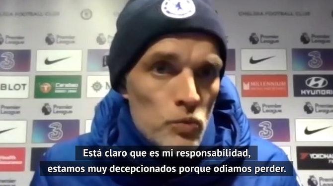 """Imagen de vista previa para Tuchel, tras el batacazo del Chelsea en casa: """"Estamos decepcionados, odiamos perder"""""""