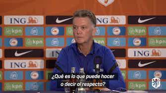 Imagen de vista previa para Depay le dijo a Van Gaal que está feliz de volver a la selección neerlandesa