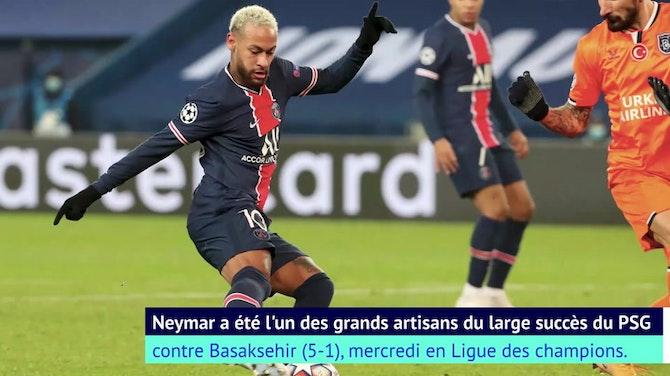 Ligue des Champions: Groupe H - Neymar, un triplé des grands soirs