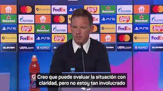 """Imagen de vista previa para Nagelsmann, sobre la situación de Lucas Hernández: """"Está positivo"""""""
