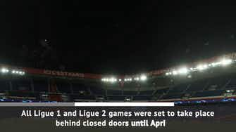 Preview image for BREAKING NEWS: Ligue 1 suspended
