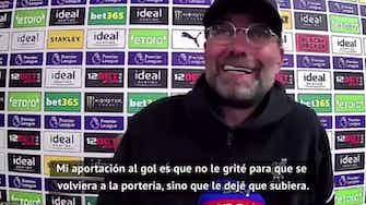 """Imagen de vista previa para Klopp, sobre el gol de Alisson: """"Absolutamente increíble"""""""