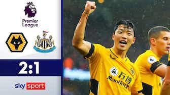 Vorschaubild für Doppelpack Hwang! | Highlights: Wolverhampton - Newcastle 2:1