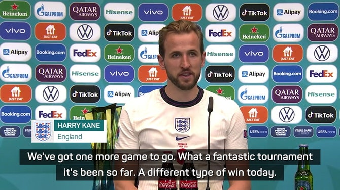 Preview image for 'Sometimes it falls your way' - Kane on England winner