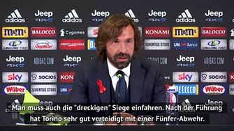 """Vorschaubild für Pirlo nach Derby-Erfolg: Ein """"dreckiger"""" Sieg"""
