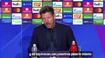 """Imagen de vista previa para Simeone: """"No me voy contento cuando no ganamos"""""""