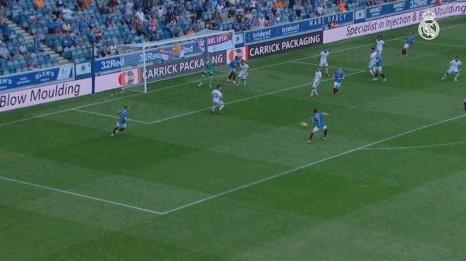 Imagen de vista previa para El Real Madrid pierde en el amistoso de Glasgow