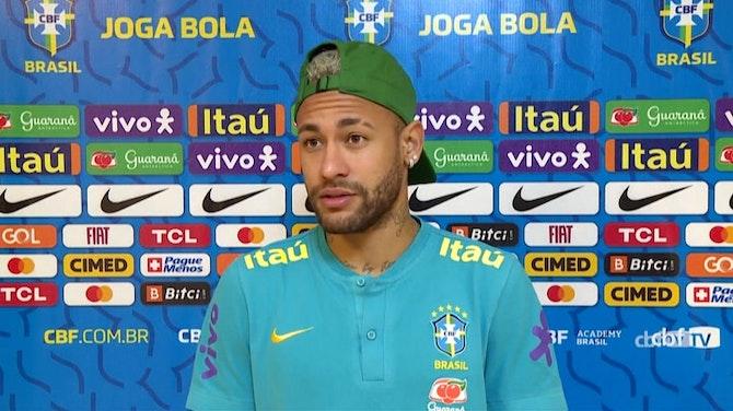 """Vorschaubild für Neymar trifft auf Messi: """"Bester Spieler, den ich gesehen habe"""""""