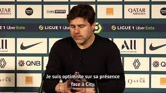 "Image d'aperçu pour 35e j. - Pochettino : ""Optimiste pour Mbappé"""