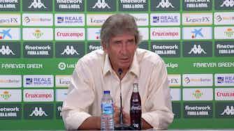 """Imagen de vista previa para Pellegrini: """"Jugamos contra el Madrid, no contra un equipo de barrio"""""""