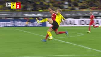 Preview image for Erling Haaland's second goal vs Union Berlin