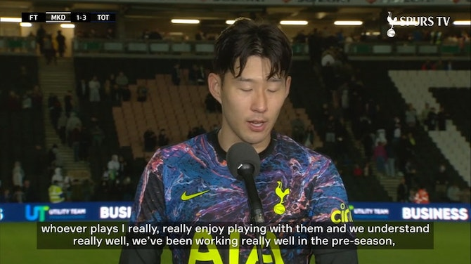 Preview image for Heung-Min Son positive about 2021-22 campaign